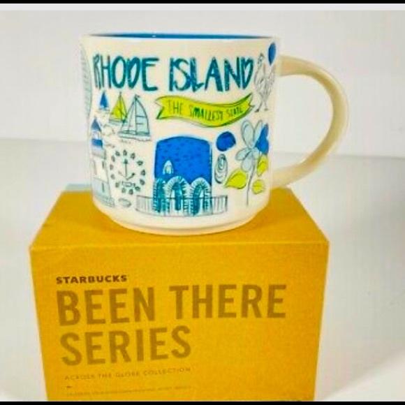 NIB Starbucks You Are You Mug Rhode Island